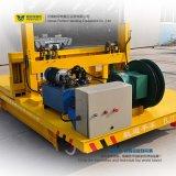 Cruz-Bahía resistente que maneja la carretilla con el carro plano del carril (BXC-10T)