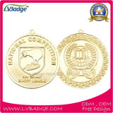 金張りの高品質の記念品メダル
