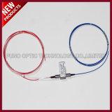 Interruptor óptico mecánico dual óptico 1X2 de la red inalámbrica de fibra