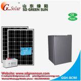 Refrigerador solar de la CC de 90L para el uso casero