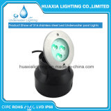 Luz subacuática ahuecada LED impermeable 316ss