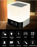 Altavoz sin hilos portable de Bluetooth LED Despertador