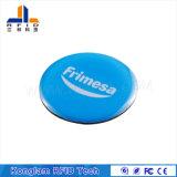 型の追跡のための円形の硬貨の電子印刷スマートなRFIDの札