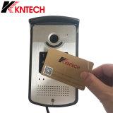 Intercomunicador 2017 del SIP del intercomunicador del control de acceso del IP con el vídeo Doorphone del bloqueo de puerta Knzd-42vr