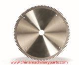 La circular del Tct del profesional vio las láminas para el metal y el acero