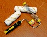 180mm Durable poliéster y acrílico rodillos con cepillos de pintura de la cubierta del rodillo
