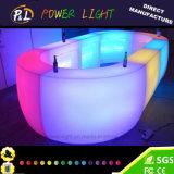 Contatore illuminato ricaricabile del PE LED di lampeggiamento della mobilia del salotto
