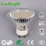 3W regulable bombilla LED GU10 Shell de cristal LÁMPARA DE LED Spotlight