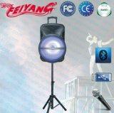 Feiyang/Temeisheng altoparlante portatile potente/Subwoofer di Bluetooth di 18 pollici con il carrello Lihght--Cx-18d