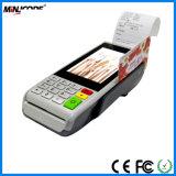 """プリンター、4.5 """"カラータッチ画面、クレジットカードの読取装置、Mjs1000が付いている人間の特徴をもつ手持ち型POSターミナル"""
