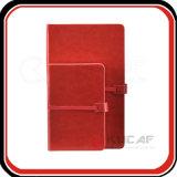 PU de cuero de encargo profesional Hardcover papel del diario del cuaderno