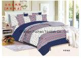 Fábrica de material poli Material acolchoado Colcha de colchão moderno Conjunto de cama Folha de capa da cama