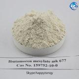 Mk677筋肉得るステロイドCAS159752-10-0 Ibutamoren Mk 677