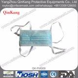 Masque protecteur médical chirurgical remplaçable du Nonwoven 3-Ply avec des relations étroites