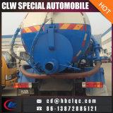 FAW 4X2の真空タンク下水10tの下水の手段