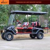 6 Seater電気ハンチングゴルフカートのセリウムの公認の良質のゴルフカート