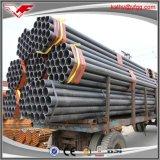 Tubo de acero redondo del negro redondo negro del tubo de acero de ERW