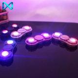 Kundenspezifischer des Firmenzeichen-LED heller neuer Handspinner Entwurfs-Metallunruhe-des Spinner-LED
