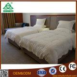 Quarto com mobiliário de madeira maciça de madeira de carvalho para quarto de hotel