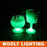 다채로운 재충전 전지 LED 얼음 양동이