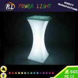 유리를 가진 나이트 클럽 또는 사건 LED에 의하여 점화되는 가구 LED 탁자