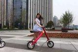 Bici eléctrica plegable de dos ruedas de la nueva bicicleta eléctrica del diseño