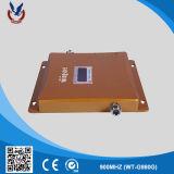Золото внутри GSM сигнала 2g дома повторителя указателя поворота с оптовой наружной антенны