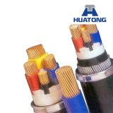 Câble blindé isolé par PE de fil d'acier (4*120+70)