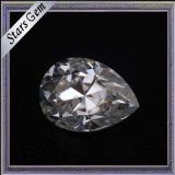 فائقة بيضاء صنع وفقا لطلب الزّبون عمليّة قطع وحجم [مويسّنيت] حجارة لأنّ مجوهرات
