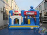 Opblaasbaar Bouncy Kasteel voor Jonge geitjes, Gebruikt Kasteel Bouncy met Dia Combo