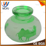 Bottiglia di vetro del narghilé di figura della bottiglia