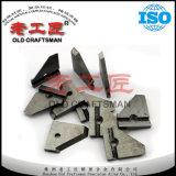 Подгонянные OEM ножи вставки цементированного карбида для вырезывания