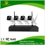 4CH P2P XM 720p Kit NVR WiFi com câmaras WiFi impermeável ao ar livre