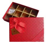 La aduana de empaquetado de papel del rectángulo del chocolate/del chocolate valida Jd-CB001