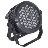 Lumière d'étape d'IP20 DMX512 aucune lumière imperméable à l'eau de PARITÉ de 54pcsx3w DEL