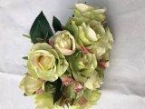 Bela Flor de Seda Rosa Artificial Fake Flower Wedding arranjo floral Decoração