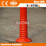 Couleur Orange PU trafic flexible Avertissement Delineator Poster