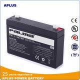 A melhor bateria de venda 6V 7ah do UPS do armazenamento do tempo longo