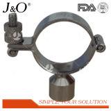 Supporto saldato sanitario del tubo dell'acciaio inossidabile