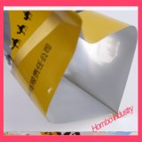 Personnalisé trois sacs de Bord-Cachetage pour des sachets en plastique de casse-croûte
