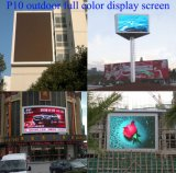 Pantalla de visualización LED de color a todo color al aire libre P8 LED al aire libre de fundición de aluminio