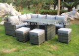8 Seater Rattan Garden Patio Corner Dining Outdoor Furniture