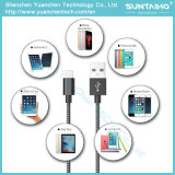 Tecido Trançado Nylon Design USB Lightning Fast Charger Cable para Iphon5 / 6/7