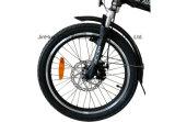 Bicicleta eléctrica plegable ligera de 20 pulgadas con la batería de litio para la señora