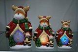 Het Meubilair van de Houder van de Kaars van Kerstmis voor het Decor van het Huis