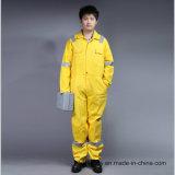 Proban ignifuge Vêtement de travail de la sécurité avec bandes réfléchissantes