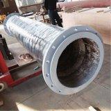 Tubo flessibile di gomma di ceramica su un camion della pompa per calcestruzzo