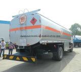 Dongfeng 4*2 camión distribuidor de combustible de 280HP 16000L camión tanque de combustible