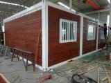 Contaimer 가벼운 강철 홈, 모듈 편평한 포장된 콘테이너 집, 절연제 콘테이너 살아있는 홈