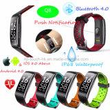 Водонепроницаемый фитнес-Tracking Smart Bluetooth браслет Q8